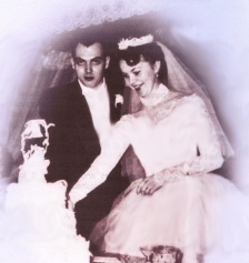 Joe and Gen married February 11, 1956