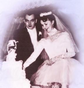 Joe and Gen married February 11, 1956