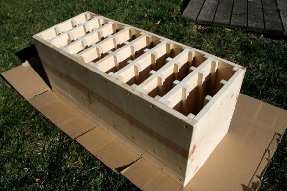 wine rack plans wooden