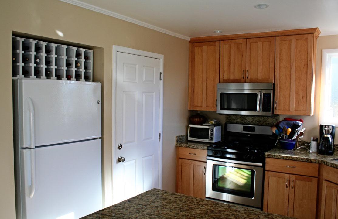 Like The Wine Storage Above Refrigerator Diy Wine Rack