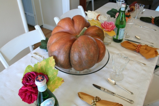 French musque pumpkin