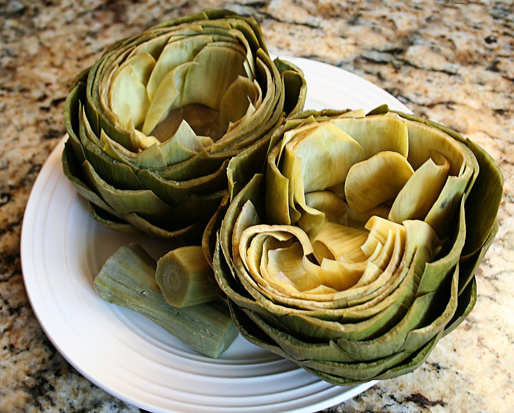"thoughts on ""10-Minute Microwave Steamed Artichokes"""