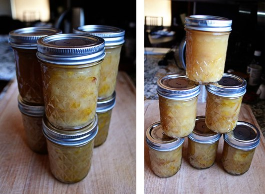 Vanilla bean and cardamom pear jam